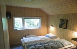 Aktivitetshus Marielyst, soveværelse med 2 senge