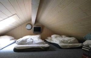 Aktivitetshus Marielyst, soveværelse